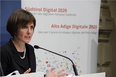 """Alto Adige: """"Spingere sullo sviluppo digitale"""""""