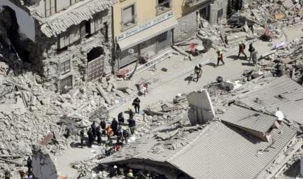 I Social per il terremoto nel Centro Italia