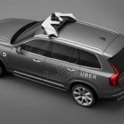Volvo Cars e Uber  per lo sviluppo di auto a guida autonoma