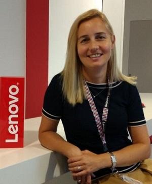 Manuela Lavezzari in Lenovo come Marketing Director EMEA (Europa, Medio Oriente e Africa)