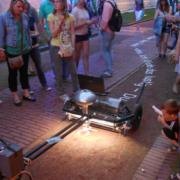 Il robot che usa la sabbia per stampare