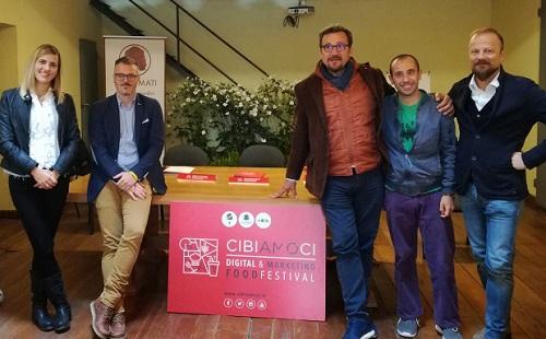 """""""Cibiamoci"""" Digital and Marketing Food Festival"""