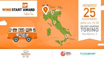 Wind Business Factor fa tappa a Torino