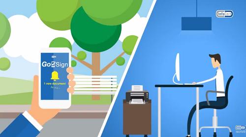 Con GoSign di InfoCert la firma digitale si integra con i processi