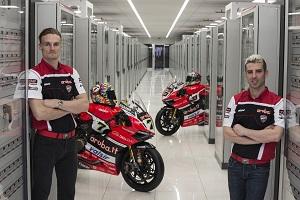 Aruba corre più veloce con Ducati