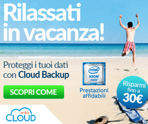 ARUBA CLOUD BACKUP_BOXTOP_300X250_GIUGNO 2017