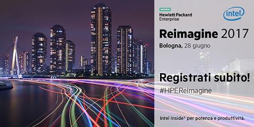 Meg Whitman a HPE Reimagine 2017, a Bologna il 28 Giugno