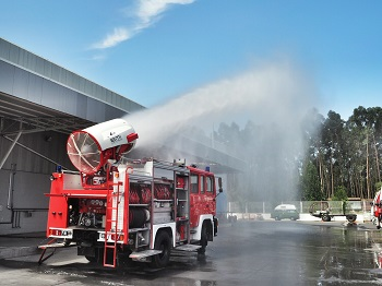 Una innovativa turbina contro il fuoco