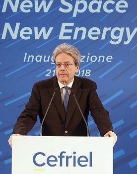 Il Presidente Gentiloni ha inaugurato  la nuova sede Cefriel a Milano