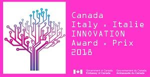 6a edizione del Premio Canada-Italia per l'Innovazione 2018