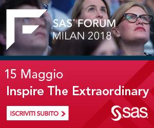 SAS Forum Milan 2018
