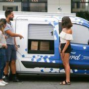 Si sperimenta a Miami l'utilizzo di veicoli a guida autonoma per  consegne on demand