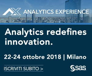 SAS Analytics Experience 2018