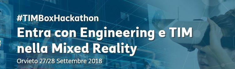 TIM Box Hackathon: contest per nuovi servizi basati sulla Mixed Reality