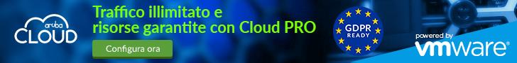 Aruba Cloud settembre 2018 728×90