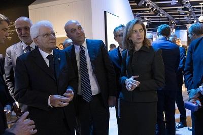 Il Presidente della Repubblica Sergio Mattarella, visita a Stoccolma la sede Ericsson