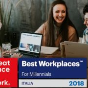 SAS Italia è Best Workplaces for Millennials: i giovani professionisti ne elogiano l'ambiente