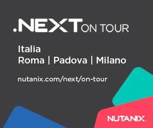 Nutanix Next Tour febbraio 2019 300×250
