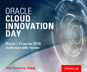 Oracle Cloud innovation Day 2019 300X250