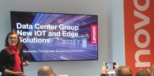 Lenovo presenta un'offerta di edge server e piattaforme server per l'IOT