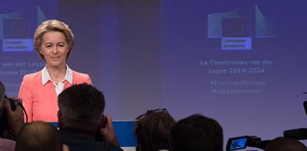 Commissione Europea: La Presidente Ursula von der Leyen ha presentato  la nuova squadra
