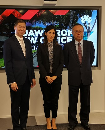 Huawei: nuovi uffici a Roma con Innovation Experience and Competence Center