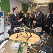 Il Presidente Conte, ha visitato il centro di Ricerca e Sviluppo di Ericsson a Genova