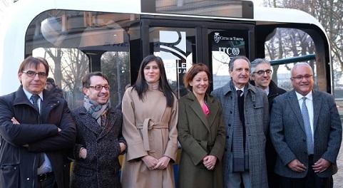 """Presentato a Torino """"Olli"""", il servizio di shuttle a guida autonoma"""