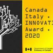 Al via l'ottava edizione del Premio Canada-Italia per l'Innovazione 2020