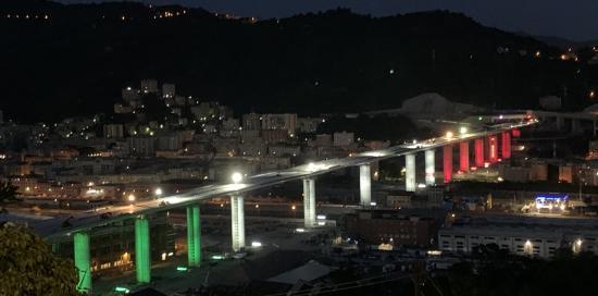 Completati i robot per il Nuovo Ponte di Genova pronto oggi all'inaugurazione